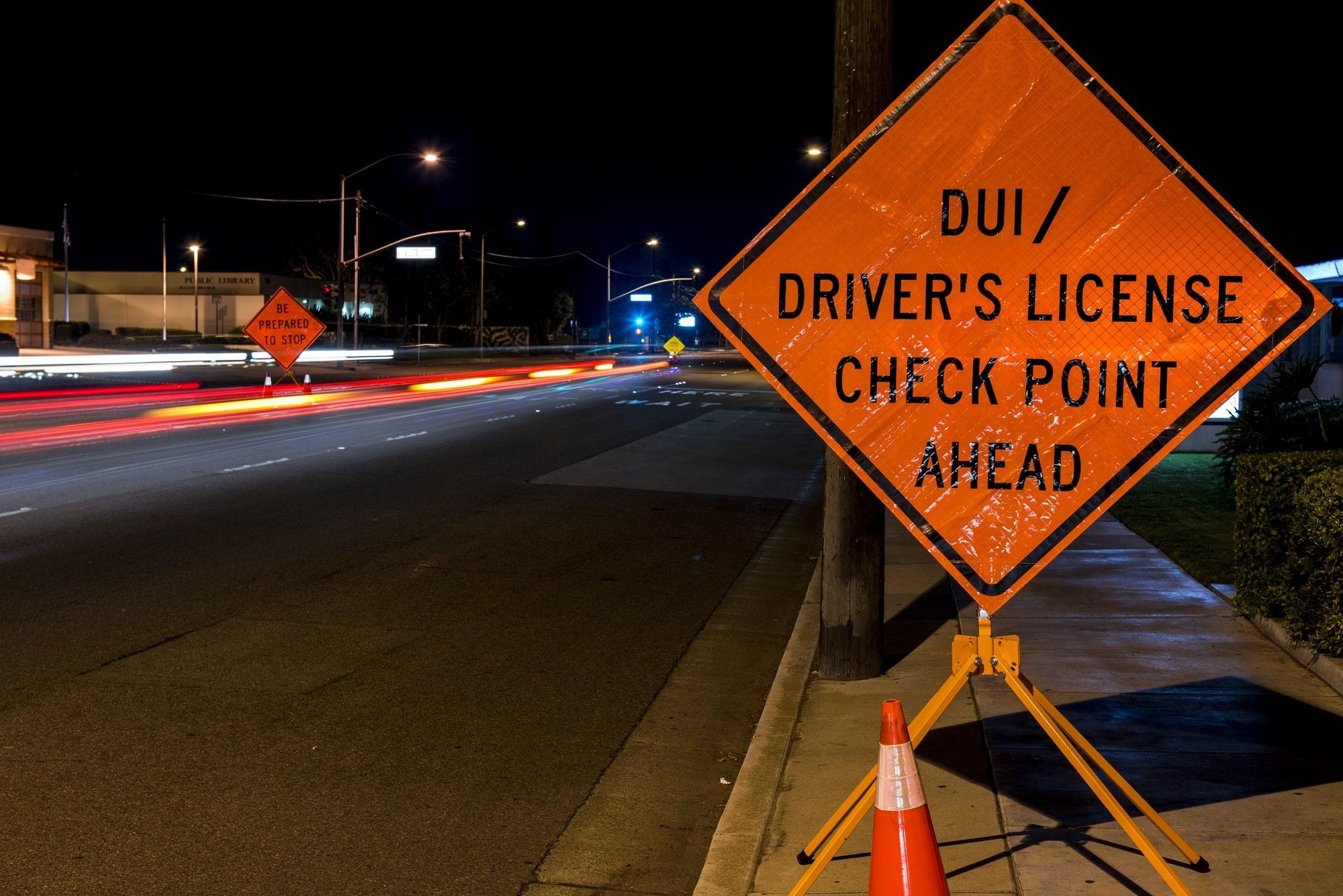 DUI Checkpoints